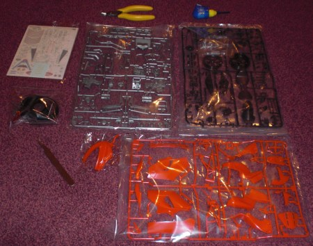 parts in kit